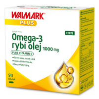 WALMARK Omega-3 rybí olej 1000mg 90 tobolek