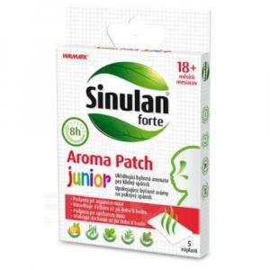 WALMARK Sinulan Forte aroma náplasti pro děti 5 ks