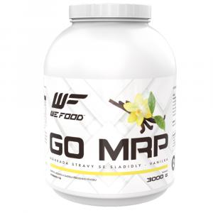 WEFOOD GO MRP dietní náhrada stravy vanilka 3000 g