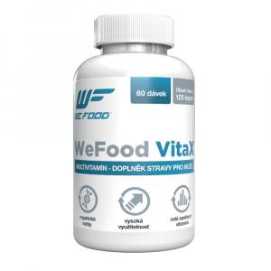WEFOOD Multivitamín VitaX v2 pro Muže 120 kapslí