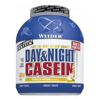 WEIDER Day & night casein příchuť vanilka 1800 g