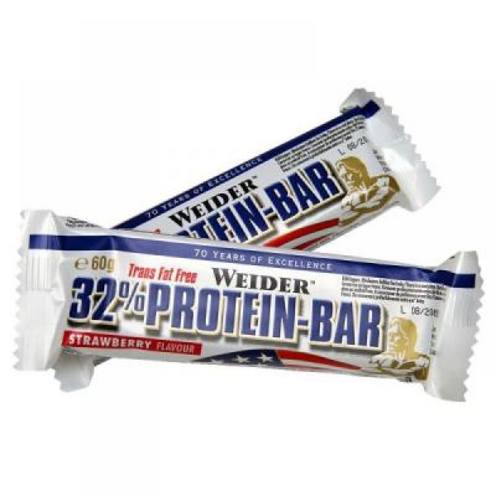 WEIDER 32% Protein Bar proteinová tyčinka Čokoláda 60 g