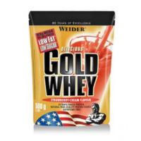 WEIDER Gold whey syrovátkový protein jahoda 500 g