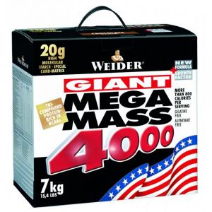 WEIDER Mega Mass 4000 Vanilka 7000 g
