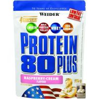 WEIDER Protein 80 Plus raspberry&cream 500 g