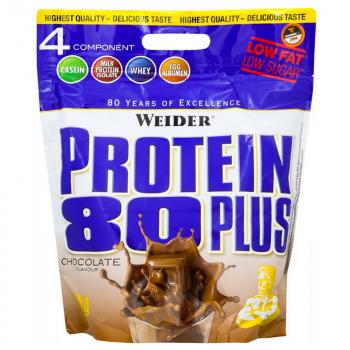 WEIDER Protein 80 plus příchuť čokoláda 2000 g