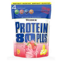 WEIDER Protein 80 plus příchuť jahoda 2000 g