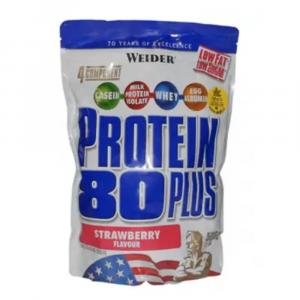 WEIDER Protein 80 plus jahoda 500 g