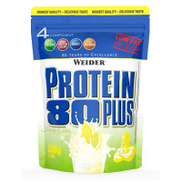 WEIDER Protein 80 plus příchuť citron a tvaroh 500 g