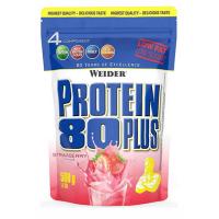 WEIDER Protein 80 plus příchuť jahoda 500 g