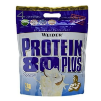 WEIDER Protein 80 plus příchuť kokos 2000 g
