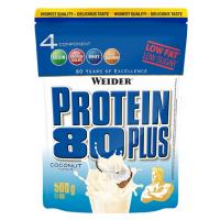 WEIDER Protein 80 plus příchuť kokos 500 g