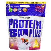 WEIDER Protein 80 plus příchuť lesní plody a jogurt 2000 g