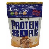 WEIDER Protein 80 plus příchuť lískový oříšek a nugát 500 g
