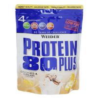 WEIDER Protein 80 plus příchuť sušenky a smetana 500 g
