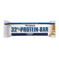 WEIDER Protein bar 32% proteinová tyčinka kokosová 60g