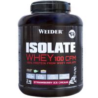 WEIDER  Isolate whey 100 CFM syrovátkový isolát příchuť jahodová zmrzlina 2 kg