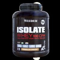 WEIDER Isolate whey 100 CFM syrovátkový isolát příchuť vanilla cream 2 kg