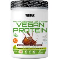 WEIDER Vegan protein příchuť brownie chocolate 750 g
