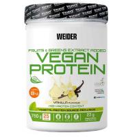 WEIDER Vegan protein příchuť vanilka 750 g