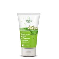WELEDA Sprchový krém a šampon veselá limetka 150 ml