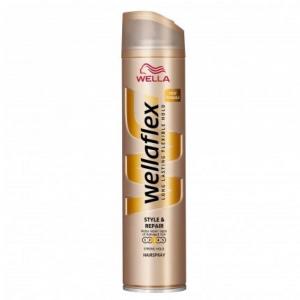 WELLAFLEX Style&Repair lak na vlasy 250 ml