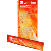 WELLION Tekutý cukr pomerančový 10x13 ml