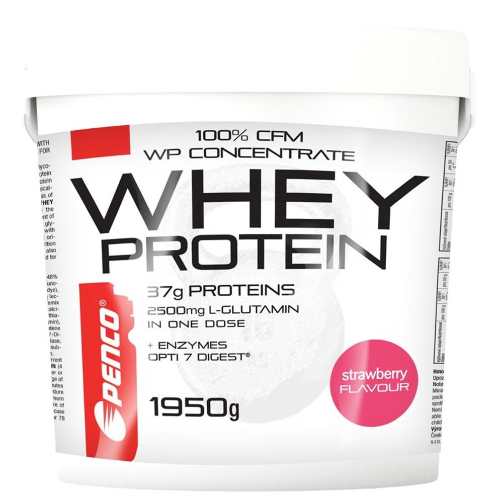 PENCO Whey protein jahoda 1950 g