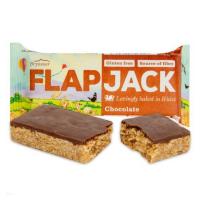 WHOLEBAKE Flapjack ovesný s polevou s čokoládovou příchutí bezlepkový 80 g