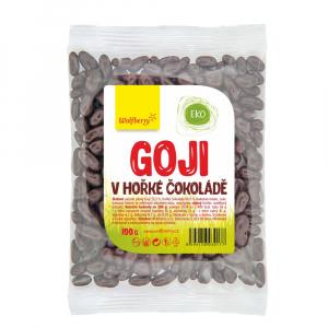 WOLFBERRY Goji Kustovnice čínská v hořké čokoládě 100 g