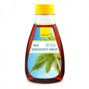 WOLFBERRY Kokosový sirup BIO 400 ml