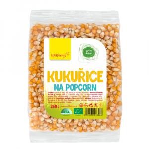 WOLFBERRY Kukuřice na popcorn 250 g BIO