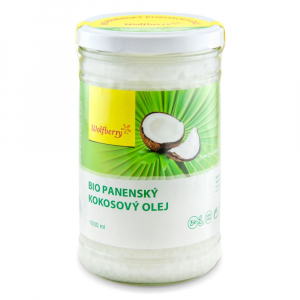 WOLFBERRY Panenský kokosový olej 1000 ml BIO