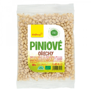 WOLFBERRY Piniové oříšky BIO 50 g