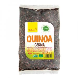 WOLFBERRY Quinoa černá 500 g BIO