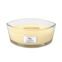 WOODWICK Vonná svíčka loď 453 g, Vůně: Soft chambray