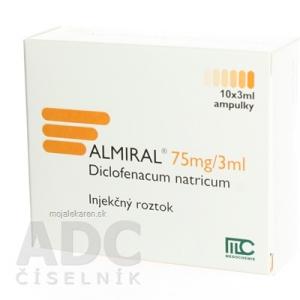 ALMIRAL INJ 10X3ML/75MG