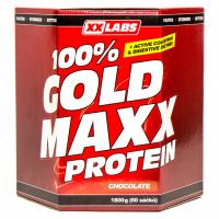 XXLABS 100% Gold maxx protein čokoláda sáčky 60 x 30 g
