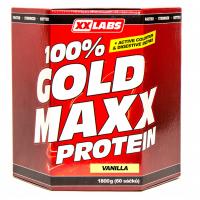 XXLABS 100% Gold maxx protein vanilka sáčky 60 x 30 g
