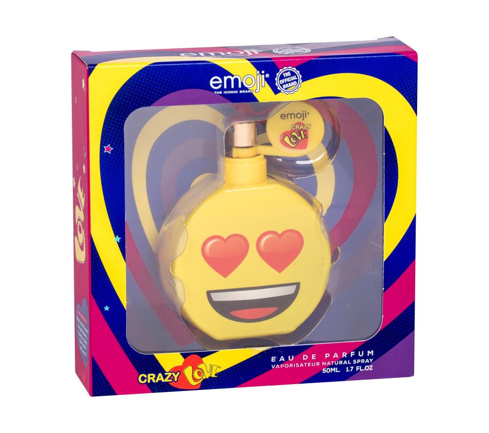 EMOJI Crazy Love Parfémovaná voda pro děti 50 ml