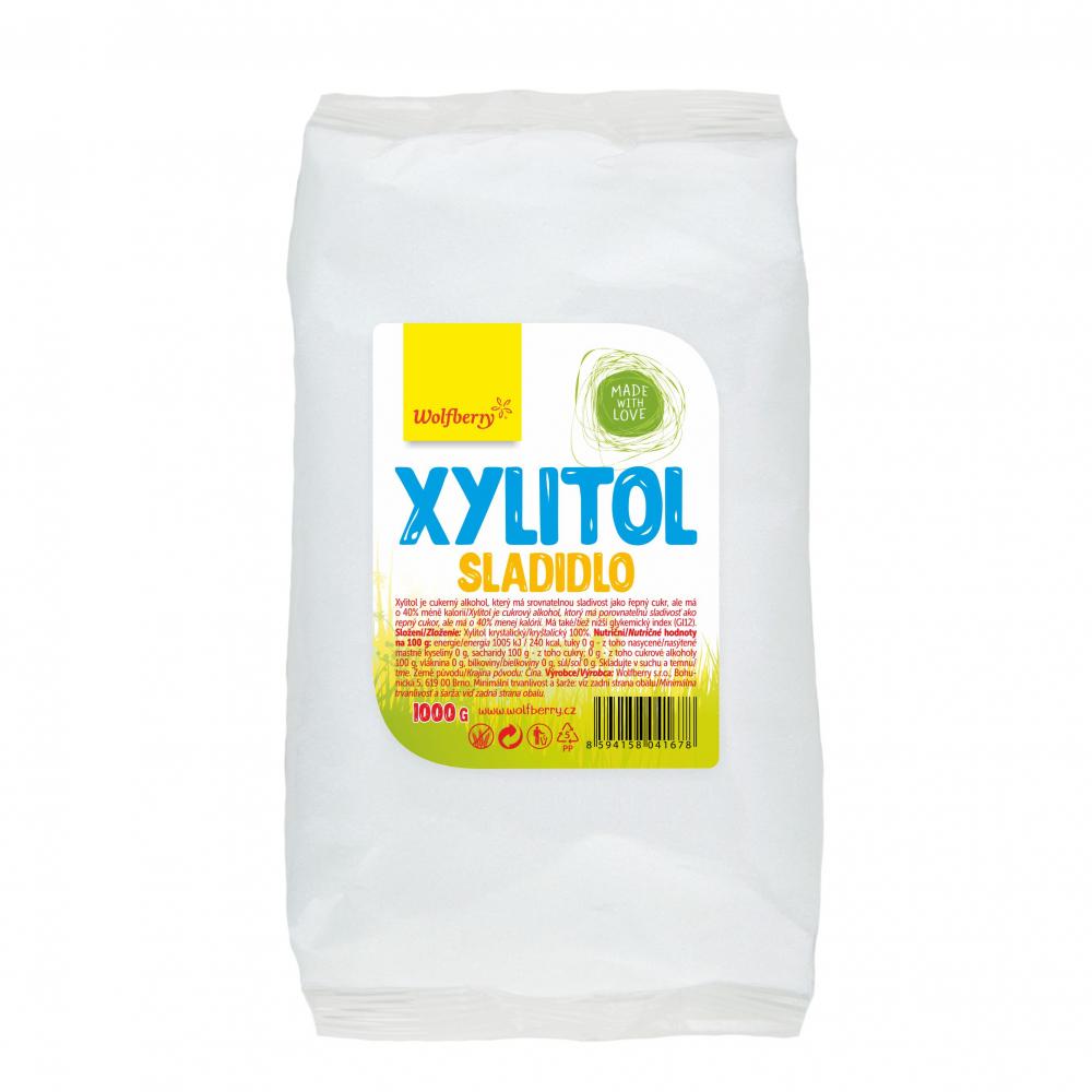 WOLFBERRY Xylitol sladidlo v sáčku 1000 g