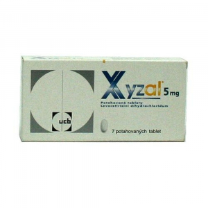 XYZAL  7X5MG Potahované tablety