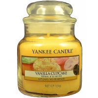 YANKEE CANDLE Classic malý Svíčka 104 g, Vůně: Vanilla Cupcake