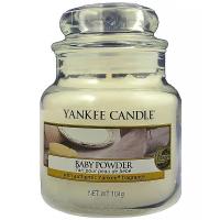 YANKEE CANDLE Classic  Baby Powder malý 104 g