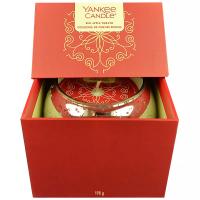 YANKEE CANDLE Svíčka Dárkový box 198 g, Vůně: Red Apple Wreath