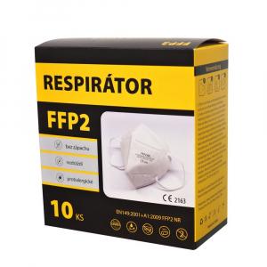 FFP2 Respirátor 10 ks bílý