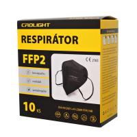ZHIFENG Respirátor FFP2 černý 10 kusů