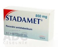 STADAMET 850  60X850MG Potahované tablety