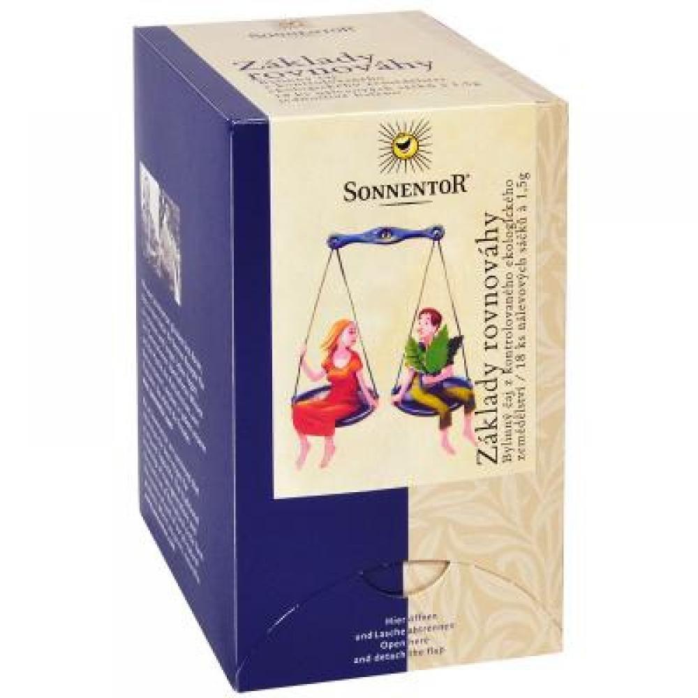 SONNENTOR Základy rovnováhy sypaný čaj BIO 27 g