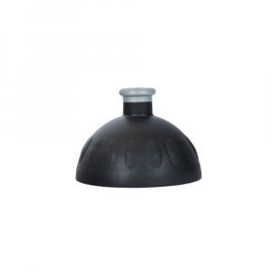 ZDRAVÁ LAHEV Víčko černé/zátka stříbrná
